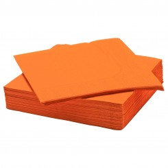 دستمال کاغذی ایکیا رنگ نارنجی FANTASTISK