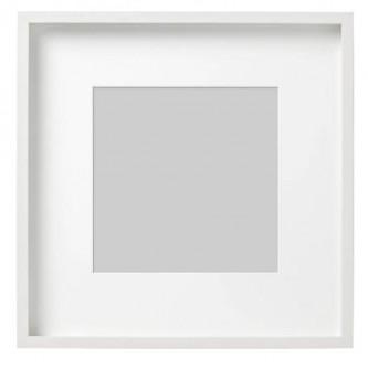 قاب عکس سفید ایکیا RIBBA سایز 50x50