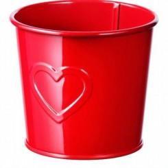 سطل قرمز ایکیا سایز کوچیک