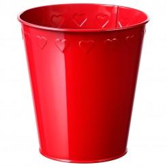 سطل قرمز ایکیا سایز بزرگ