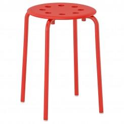 چهار پایه فلزی ایکیا رنگ قرمز MARIUS