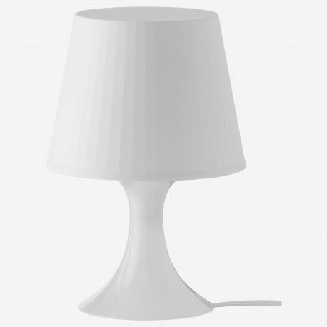 آباژور سفید ایکیا LAMPAN